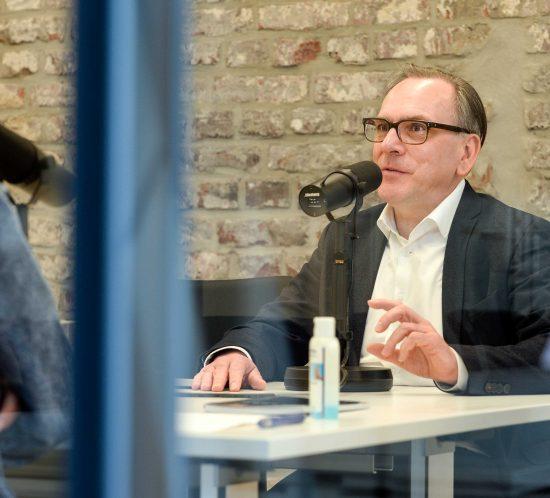 Podcast mit Andreas Mucke | Foto: Jens Grossmann